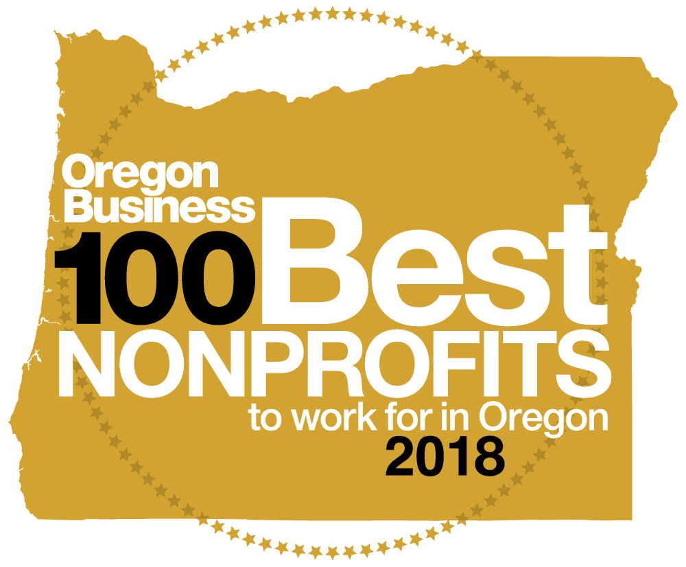 Oregon Business Top 100 Non-Profits Logo